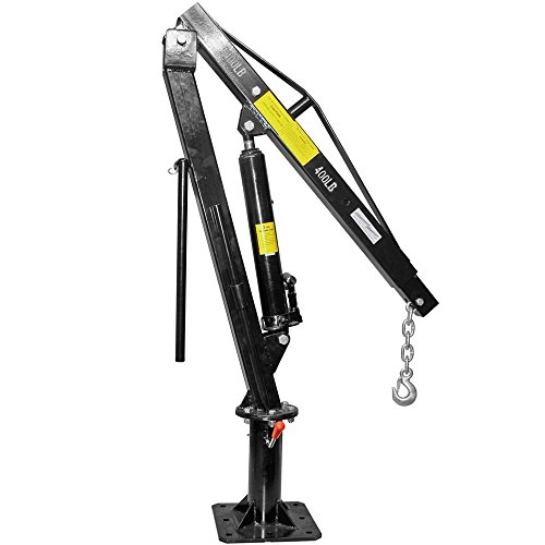 Discount Ramps Pickup Truck Bed Hoist Jib Crane 1,000 lb. Capacity