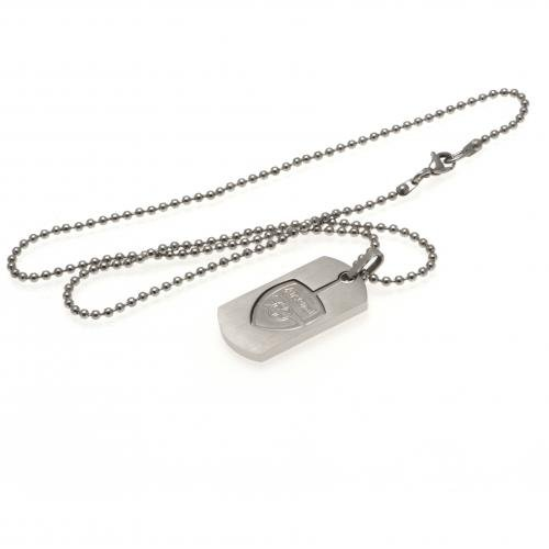 Arsenal F.C. Dog Tag & Chain CO by Marchandise officiel de Football
