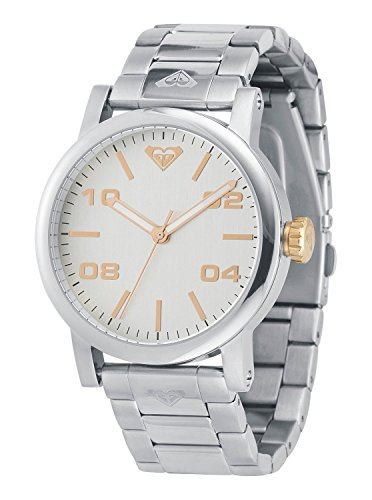 - Roxy Women's RX/1001SVSV THE VICTORIA Silver-Tone Bracelet Watch