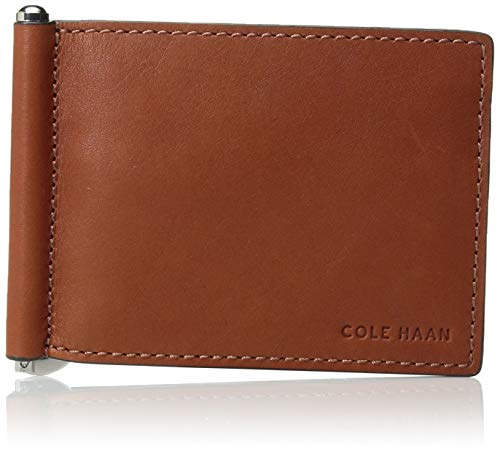 Cole Haan Mens Wallets - Cole Haan Men's Washington Grand HINGED Bifold Wallet, brandy brown, No No Size