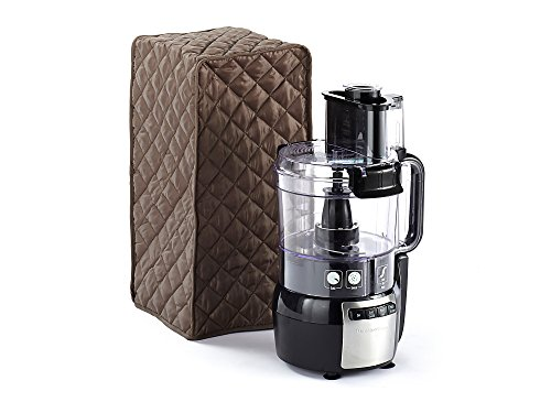 CoverMates – Food Processor Cover – 11W x 9D x 15H – Diamond Collection – 2 YR Warranty – Year Around Protection - Bronze