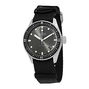 Best Epic Trends 41ulMzcgA6L._SS300_ Blancpain Fifty Fathoms Bathyscaphe Meteor Grey Dial Automatic Men's Watch 5000-1110-NABA