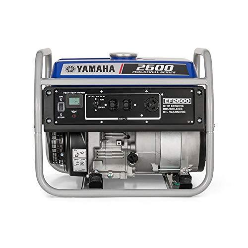 Yamaha EF2600, 2300 Running Watts/2600 Starting Watts, Gas Powered Portable Generator