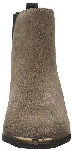 Buffalo London 415-0290-1 Cow Suede, Zapatillas De Estar por Casa para Mujer Beige