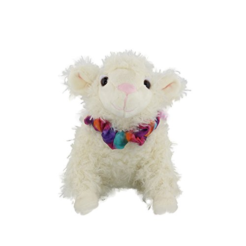 MerryMakers Sweet Pea & Friends Plush Sheep Doll, 7.5-Inch