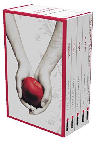 Saga Crepúsculo - Caixa com 5 Livros