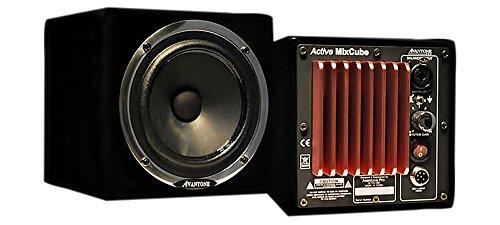 Avantone Audio Active MixCubes - Gloss Black/Pair ()