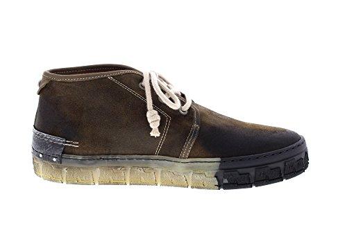 Yellow Cab 15460 Check M - Herren Schuhe Schnürrschuhe Boots - Moss, Größe:45 EU