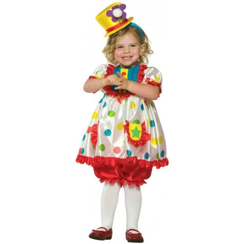 [Rasta Imposta Clown Girl Costume, 3T-4T] (Rasta Baby Costume)