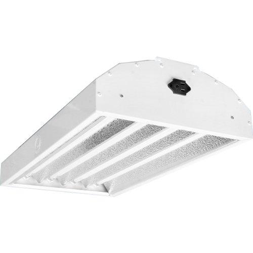 Maverick Sun 4-Lamp Mother Fluorescent Fixture, 2-Feet, 120-volt
