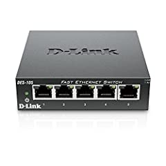 D-link 5-port 10/100 desktop switch, unmanaged, metal chassis. Provides an extensible design that enables Service prioritization for data. Design that delivers high availability, scalability, and for maximum flexibility and price/performance....