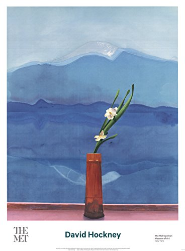 David Hockney-Mount Fuji and Flowers-2016 ()