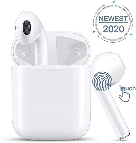 🥇 2020 I12 Auriculares Inalámbricos Bluetooth 5.0