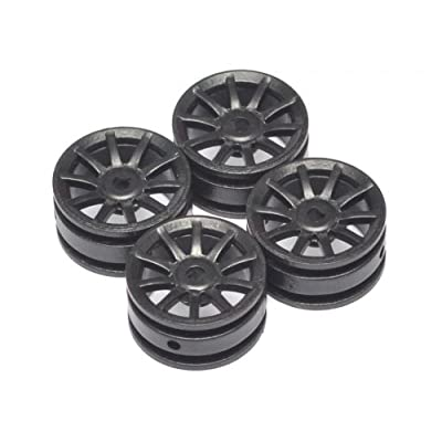 Orlandoo Hunter Model #OL/GA0003 10 Spoke Wheel 4 Pcs for OH35P01 OH35A01 Orlandoo Hunter Jeep Rubicon: Toys & Games