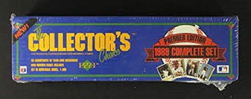 1989 Upper Deck Baseball Factory Sealed 800 Card Set with Ken Griffey Jr. ()