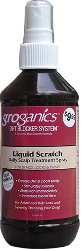 Groganics Liquid Scratch Daily Scalp Treatment, 8 Ounce