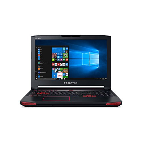 Acer Predator 15 Gaming Laptop, Core i7, GeForce GTX 1070, 15.6