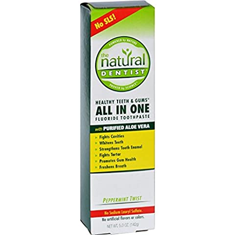Natural Dentist Anti-Cavity Toothpaste Original Peppermint Twist - 5 oz (Dycal Cement)