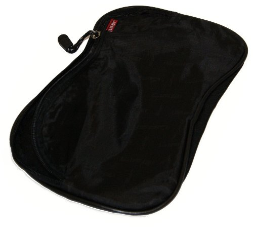 Ex-Pro® Life NEO Chic Black Luxury Laptop / Notebook bis 15,4 Messenger Bag mit Powercord Fall.