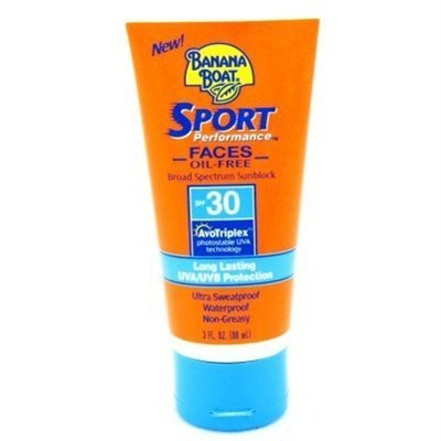 Banana Boat Spf#30 Sport Face 3 Ounce (88ml) (3 Pack)