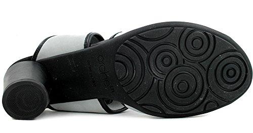 Ark Leiga Nubuck Rem Sandal I Svart / Dimma, Storlek 38 Eu