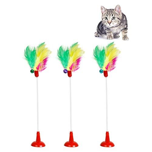 Amazon.com : Best Quality Funny cat Ball Toys Elastic Fear False Mouse Bottom Sucker Toys for cat Kitten playg pet seat Scratch Toy pet cat Product : Pet ...