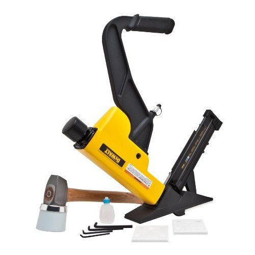(Dewalt DWFP12569R 2-N-1 16-Gauge Nailer and 15-1/2-Gauge Stapler Flooring Tool (Renewed))
