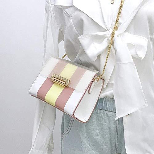 à Rose Sac Moontang coloré Transparent à Taille Rose Sac bandoulière bandoulière qAwgqX