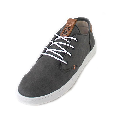 HUB Chucker 2.0 Canvas Black Off White Grey cheap top quality with credit card for sale authentic sale online 100% authentic for sale store cheap online 64efQDPGZ