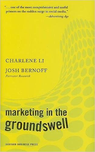 Marketing in the groundswell charlene li josh bernoff marketing in the groundswell charlene li josh bernoff 9781422129807 amazon books fandeluxe Choice Image