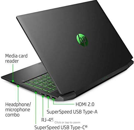 HP Pavilion 16.1 inch Gaming Laptop (1920x1080) FHD 144Hz , Intel Core i5-10300H, NVIDIA GeForce GTX 1660 Ti with Max-Q Design, 8GB RAM, 512GB SSD+32GB Optane, Windows 10 Home