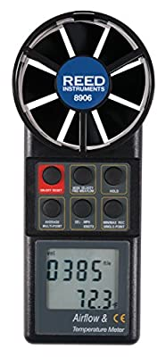 Reed Instruments Rotating Vane Thermo-Anemometer