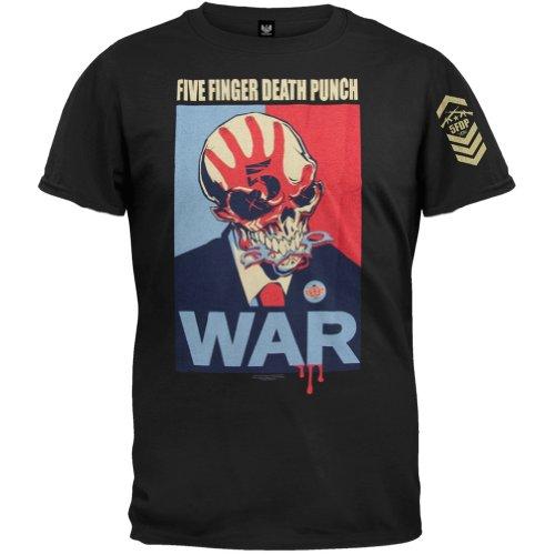 War S/s Tee (FIVE FINGER DEATH PUNCH - WAR - MENS S/S T-SHIRT (2XLarge))