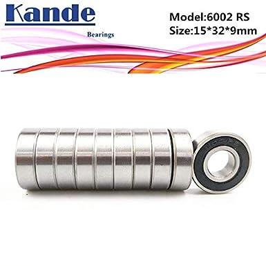 Si3N4 12x24x6mm Rubber Sealed Bearings 6901-2RS Hybrid Ceramic Ball 1pcs