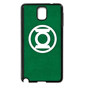 Green Lantern Logo Green Samsung Galaxy Note 3 Cell Phone Case Black toy pxf005_5829947