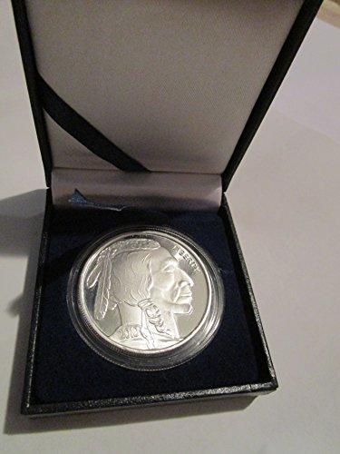 2010 Silver Buffalo Commemorative 1 OZ Brilliant Uncirculated