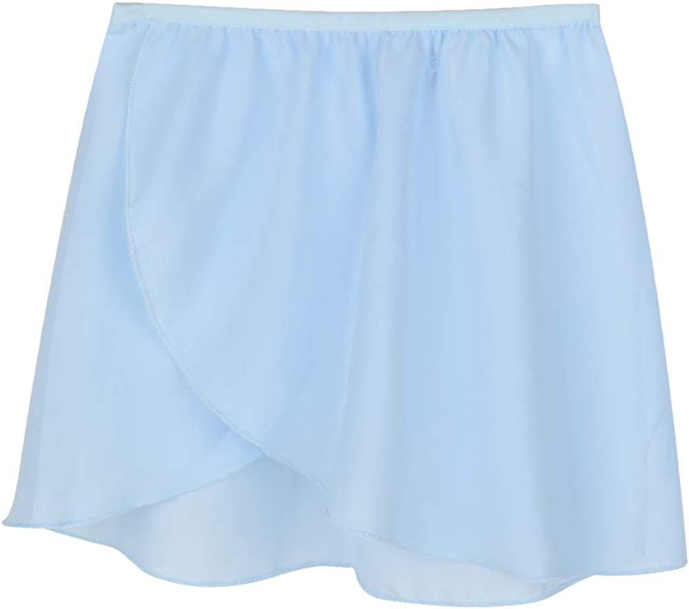 Skirts Sports & Outdoors FNYIVDNY Ballet Skirt Chiffon Athletic-Dance-Skirts  for Women or Girls Blue Large