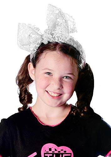 Candy Apple Costumes - Candy Apple Costumes 80's Lace Bow
