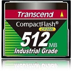 Transcend Ts512mcf200i 512mb Industrial Cf Card(udma5)