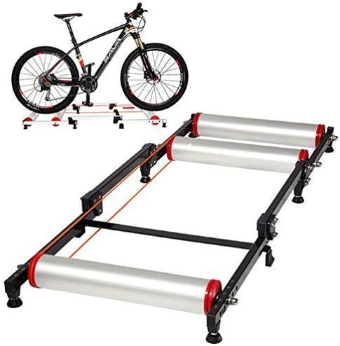 ROCKBROS Rodillo de Rulos para Bicicleta Entrenamiento Ajustable ...