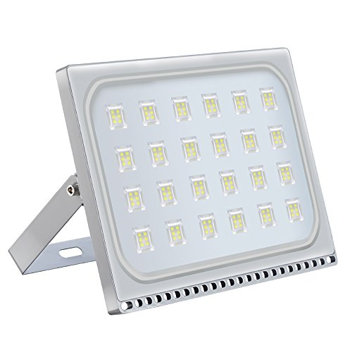 LED Flood Light Chunnuan, 150W,13000LUMEN 6000-6500K (Cold White), IP65 Waterproof,Outdoor Security Lights Garden Landscape Spot Lamp Super Bright Floodlight 110v