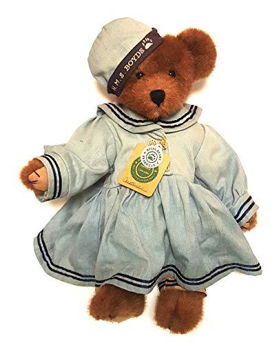 "Boyds Bears Collectible Plush USS Unbearable Nautical Constance Bear Doll 16"" from Boyds Bears"