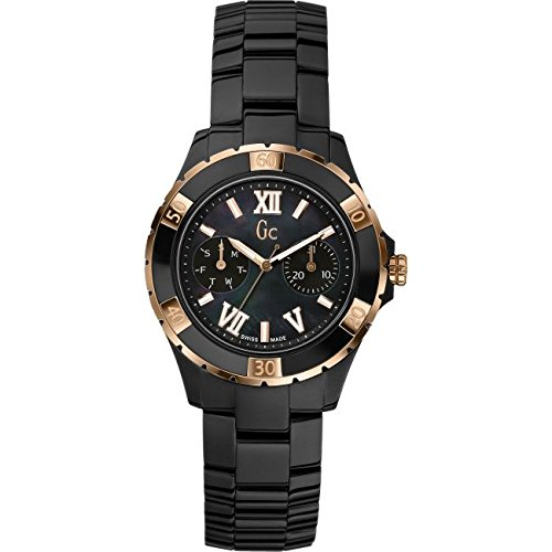 Reloj Guess Collection Gc Sport Class Xl-s X69004l2s Mujer Nácar: Amazon.es: Relojes