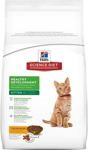 Hill s Science Diet Kitten Healthy Development Dry Cat Food, 15.5-Pound Bag by Hill s Science Diet