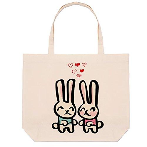 themed Natural for Rabbit Hiros Gift Friendly Environmentally Tote Bag anyone Bag Shopping TISTRqv51