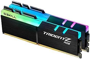 G.Skill 32GB DDR4 RGB TridentZ 3200 MHz PC4-25600 CL16 1.35V Dual Channel Kit (2x16GB) para Intel/AMD