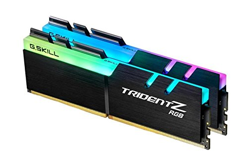 - G.Skill TridentZ RGB Series 16GB (2 x 8GB) 288-Pin DDR4 SDRAM DDR4 3200 (PC4 25600) Desktop Memory F4-3200C16D-16GTZRX