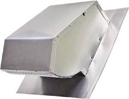 Duct Roof Cap Aluminum (Range Hood Roof Cap, Mill Finish, Up to 7