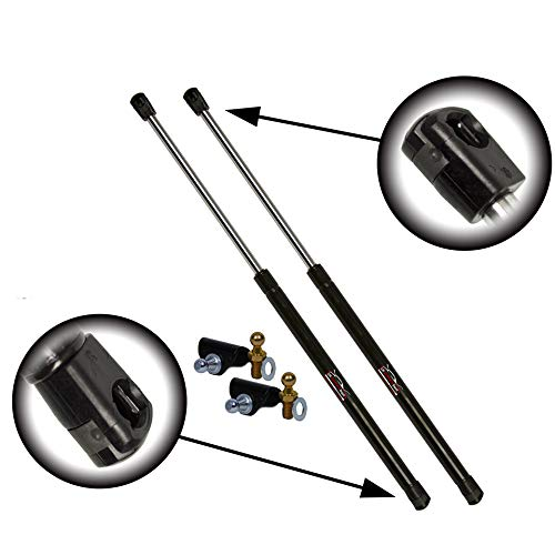 Qty (2) Fits Nissan 350Z 2003 To 2008 Rear Hatch Lift Supports With Rear Spoiler (Bracket & Ball Stud Included)