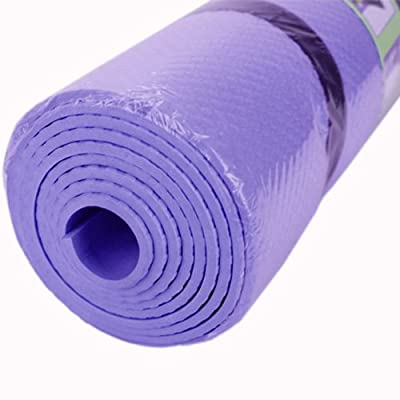 Purple plush yoga mat for girls ,is an exclusive extra strong mat for young girls to provide comfort via its added thickness. This can help the girls to stretch their bodies beyond any limit
